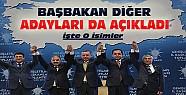 Başbakan AK Partinin Diğer Adaylarını da Açıkladı-İşte O İsimler