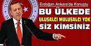 Başbakan Ankara'da Konuştu:Bu Ülkede Ulusalcı Mulusalcı Yok