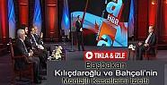 Başbakan Canlı Yayında Kılıçdaroğlu ve Bahçeli'nin Kasetlerini İzletti-VİDEO