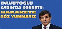 Başbakan Davutoğlu Muhalefete Yüklendi