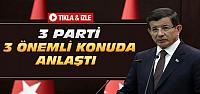 Başbakan Davutoğlu'ndan Açıklamalar-VİDEO