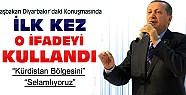 Başbakan Diyarbakır'da İlk Kez O İfadeyi Kullandı