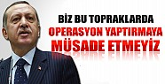 Başbakan Erdoğan: Biz Bu Oyuna Gelmeyeceğiz