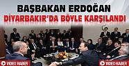 Başbakan Erdoğan Diyarbakır'da Böyle Karşılandı-VİDEO