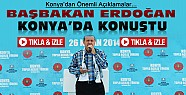 Başbakan Erdoğan Konya'daki Mitingte Konuştu-VİDEO-Tıkla İzle