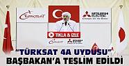 Başbakan Japonya'da Türksat 4A Uydusunu Teslim Aldı-VİDEO