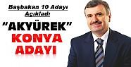 Başbakan Konya Büyükşehir Başkan Adayını Açıkladı