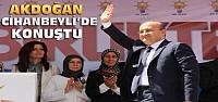 Başbakan Yardımcısı Akdoğan Cihanbeyli'de