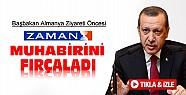 Başbakan Zaman Muhabirini Fırçaladı-VİDEO