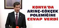 Başbakan'dan Konya'da Arınç-Gökçek Açıklaması