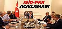 Başbakanlık'tan IŞİD ve PKK Operasyonu Açıklaması