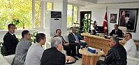 Başkan Akkaya'ya KONESOB'dan Ziyaret