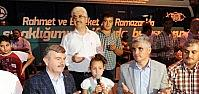 Başkan Akyürek Bozkır'da İftar Açtı