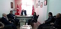Başkan Özgüven'den MHP'ye Ziyaret