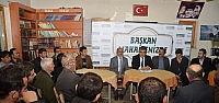 Başkan Özgüven'in Vatandaşlarla Buluşması Sürüyor