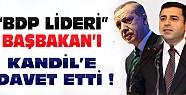 BDP Lideri Erdoğan'ı Kandil'e Davet Etti