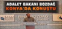 Bekir Bozdağ Konya'da Konferansta Konuştu