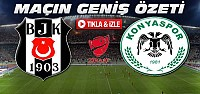 Beşiktaş-Konyaspor-Çeyrek Final ÖZET-VİDEO