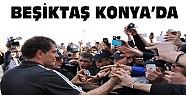 Beşiktaş Konya'ya Geldi-Taraftarlar Çiçeklerle Karşıladı