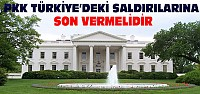 Beyaz Saray'dan PKK'ya Çağrı