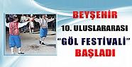 Beyşehir 10. Uluslararası Göl Festivali Başladı