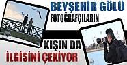 Beyşehir Gölü Kışın da Bir Başka Güzel