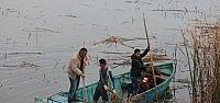 Beyşehir Gölü Kıyılarındaki Sazlıklar...