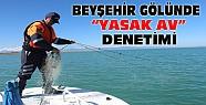 Beyşehir Gölünde Jandarmadan Yasak Av Denetimi