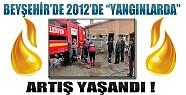 Beyşehir'de 2012'de Yangınlarda Artış Yaşandı