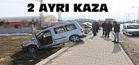 Beyşehir'de 2 Ayrı Trafik Kazası