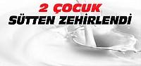 Beyşehir'de 2 Çocuk Sütten Zehirlendi