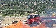 Beyşehir'de Orman Yangını Tatbikatı
