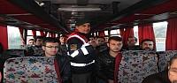 Beyşehir'de Servis Araçları Denetleniyor
