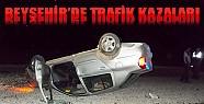 Beyşehir'de Trafik Kazaları: 1'i Ağır, 3 Yaralı