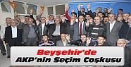 Beyşehir'deki sayım bitti-Partililer büyük coşku yaşadı