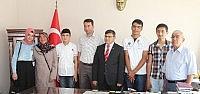 Beyşehir'in Şampiyonlari Altınla Ödüllendirildi