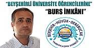 Beyşehirli üniversite öğrencilerine burs imkanı
