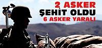 Bitlis'ten Acı Haber:2 Asker Şehit 6 Asker Yaralı