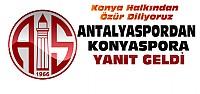 Bu Kez Antalyaspordan Konyaspora Yanıt
