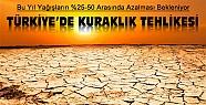 Bu Yıl Yağışlar Azalacak-Türkiye'de Kuraklık Tehlikesi