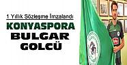 Bulgar Golcü Konyasporda-1 Yıllık Sözleşme İmzalandı