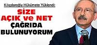 CHP Lideri Kılıçdaroğlu Hükümete Yüklendi