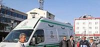 Cihanbeyli Belediyesine Yeni Cenaze Aracı
