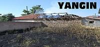Çocukların Çıkardığı Yangın Eve Sıçradı