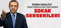 Cumhurbaşkanı Erdoğan: Sokak Serserileri