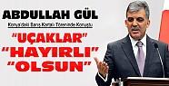 Cumhurbaşkanı Gül, Konya'daki Barış Kartalı Töreninde Konuştu