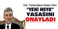 Cumhurbaşkanı Gül Yeni HSYK Yasasını Onayladı
