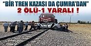 Çumra'da Yük Treni Otomobile Çarptı:2 Ölü 1 Ağır Yaralı