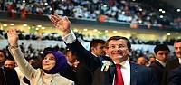 Davutoğlu aday tanıtım toplantısında konuştu