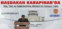 Davutoğlu Karapınar'da Açılış Yaptı
